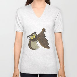 Avery the Owl Unisex V-Neck
