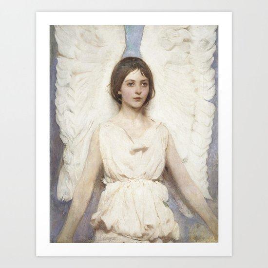 Abbott Handerson Thayer - Angel Art Print