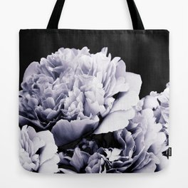 Peony Flower Bouquet Black and White #decor #society6 #buyart Tote Bag