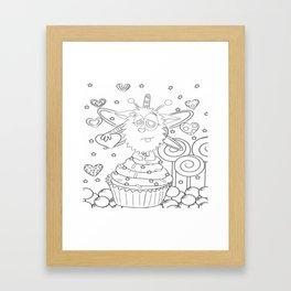 SugarPuff Framed Art Print