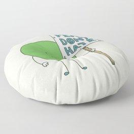 Let's Get Along Floor Pillow