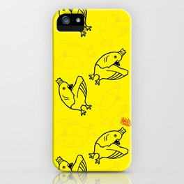 Pigeon King iPhone Case