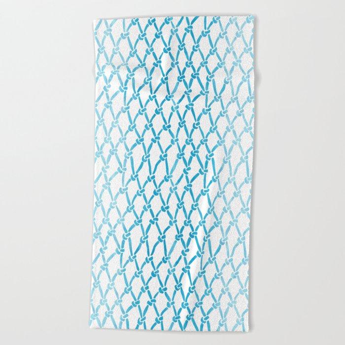 Net Water Beach Towel