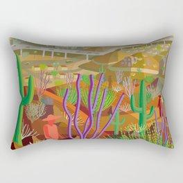 Desert City Phoenix Rectangular Pillow