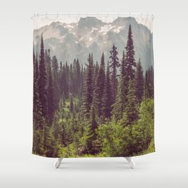 Faraway - Wilderness Nature Photography Shower Curtain