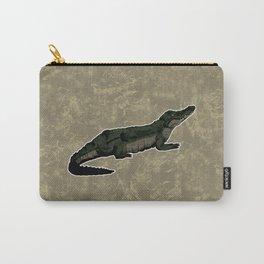 Nile Crocodile Carry-All Pouch