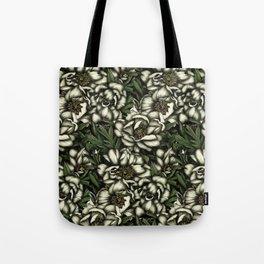 Botanic white Tote Bag