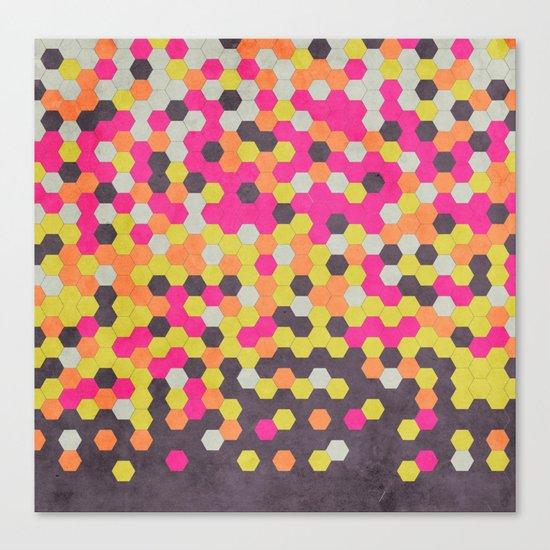 Honeycomb   Abyss Canvas Print