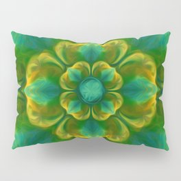 The Flower of Positivity  Pillow Sham