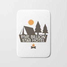 Five Billion Star Hotel Camping Bath Mat