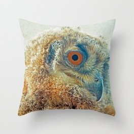 PROF-OWL Throw Pillow