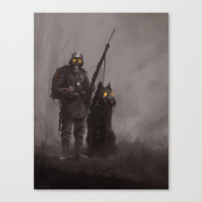 Infantryman Leinwanddruck