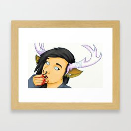Sooth Seer Framed Art Print
