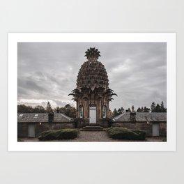 Pineapple House in Scotland Art Print