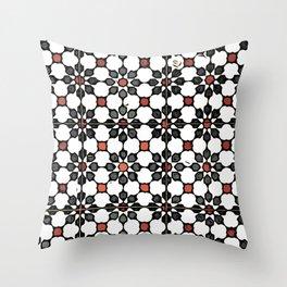 Floor Series: Peranakan Tiles 8 Throw Pillow