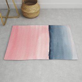 Pink Indigo Abstract No. 1 Rug