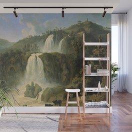 Great Cascades at Tivoli Villa, Rome, Italy by Jakob Philipp Hackert Wall Mural