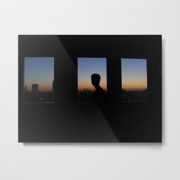 Sunrise in London Metal Print