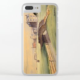 St Andrews Golf Course Scotland 18th Hole Clear iPhone Case