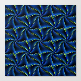 Synchronized Swimming... Canvas Print