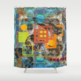 In the Toy Box Shower Curtain