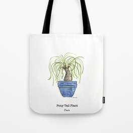 Pony Tail Plant Tote Bag