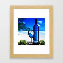sea drinks Framed Art Print