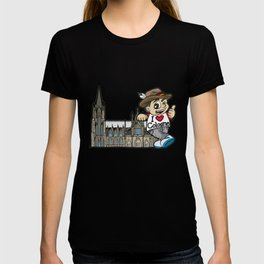 I LOVE COLOGNE Cathedral Germany Rhine Church T-shirt