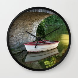 Calmness | Stille Wall Clock