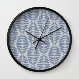 Seeds in the field Wall Clock