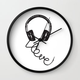 Love for Music Wall Clock