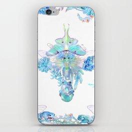 Aqua Chalcedony iPhone Skin