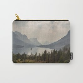 Panoramic Landscape Mountains & Lake Carry-All Pouch