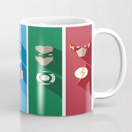 Comic Superheros No. 6-10 Coffee Mug
