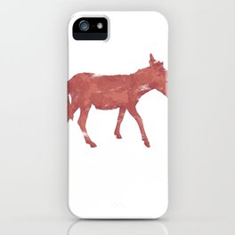 Donkey Animal iPhone Case