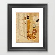Yokai Series: Megitsune Framed Art Print