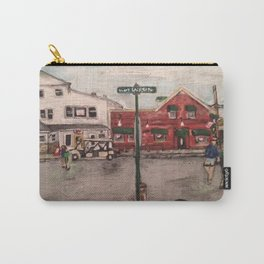 """""""West Lakeshore Drive""""  Kelley's Island, Ohio Carry-All Pouch"""