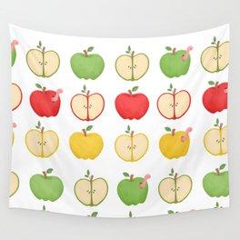 Apple Pattern 2 Wall Tapestry