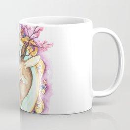Trophy: Abstract Mounted Deer Coffee Mug