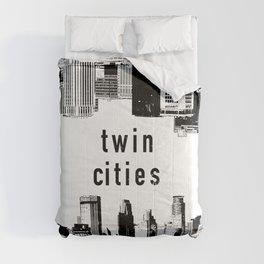 Twin Cities Minneapolis and Saint Paul Minnesota Comforters