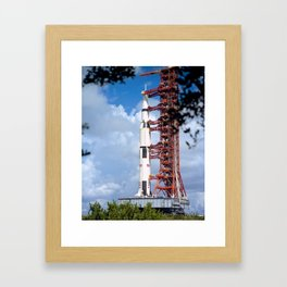 NASA Apollo 17 Spacecraft 1972 Framed Art Print