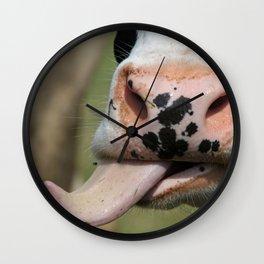 Sassy Cow   Freche Kuh Wall Clock
