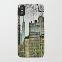 The view from Bryant Park iPhone Case