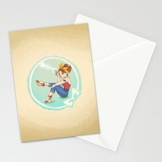 Fishbone Pin-up Stationery Cards