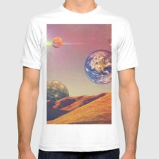 Venus. MEDIUM White Mens Fitted Tee