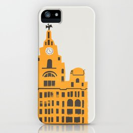 Liver Building Liverpool iPhone Case