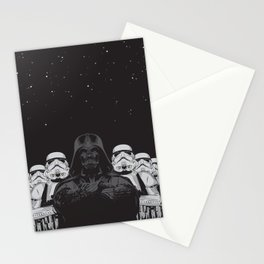 The crew Stationery Cards
