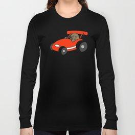 Cartoon Go-Kart Long Sleeve T-shirt