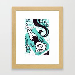 Summer Reading: Fantasy  Framed Art Print