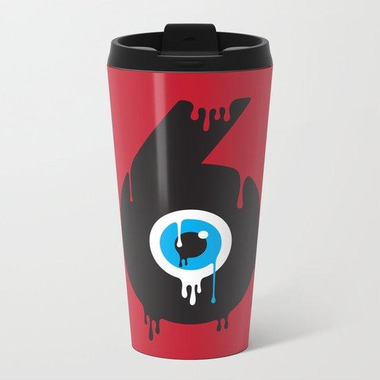 Paint your Society Metal Travel Mug